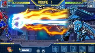 getlinkyoutube.com-Toy Robot War : Ice Dragon