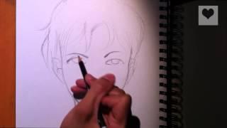 getlinkyoutube.com-الرسام المحترف : أسهل طريقة لرسم  الوجه