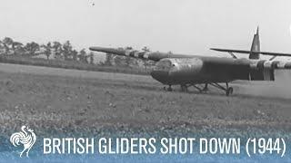 getlinkyoutube.com-Battle of Arnhem - British Gliders Shot at by SS (1944)
