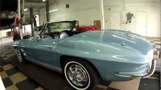 getlinkyoutube.com-1963 Chevrolet Corvette Convertible