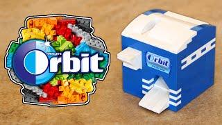 getlinkyoutube.com-LEGO Orbit Gum Candy Machine