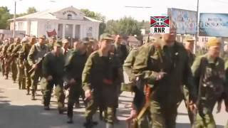 getlinkyoutube.com-Дивизия Донских Казаков идёт Донбасс  Don Cossack division goes Donbass