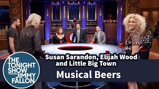 getlinkyoutube.com-Musical Beers with Susan Sarandon, Elijah Wood and Little Big Town