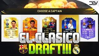 getlinkyoutube.com-EL CLASICO - FIFA 16 FUT DRAFT