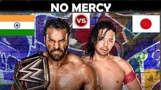 WWE NO MERCY RESULT | JINDER MAHAL vs SHINSUKE NAKAMURA | WWE CHAMPIONSHIP NO MERCY 2017  HIGHLIGHTS