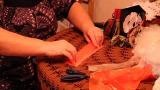 getlinkyoutube.com-Цветы из полиэтиленовых пакетов своими руками - как украсить комнату