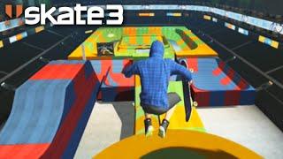 SKATE 3: NOVO PERSONAGEM e RAMPAS ÉPICAS! (Skate Share Pack) #121