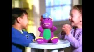 getlinkyoutube.com-Silly Hats - Barney - Toy TV Commercial - TV Spot - TV Ad - Fisher Price