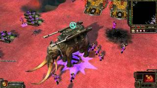 Command and Conquer Red Alert 3 Mammoth Husk.