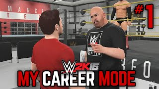 "getlinkyoutube.com-WWE 2K16 My Career Mode - Ep. 1 - ""WELCOME BACK!"" [WWE MyCareer PS4/XBOX ONE/NEXT GEN Part 1]"