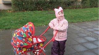 getlinkyoutube.com-Прогулка с реборн куклой, играем в куклы Адель A walk with my Reborn baby