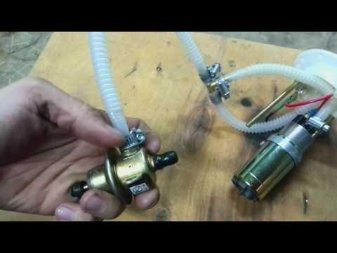 Замена бензонасоса CF MOTO Х6 на жигулевский