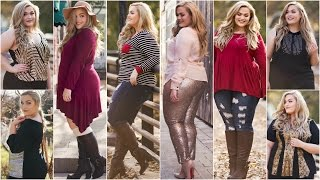 getlinkyoutube.com-Winter Wonderland Lookbook 2015 | Plus Size