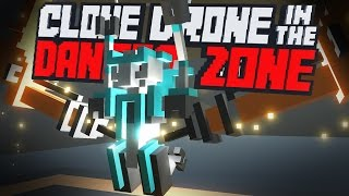 Clone Drone in the Danger Zone - The Random Upgrade Challenge! - Clone Drone Gameplay Highlights
