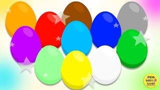 getlinkyoutube.com-Яйцо с сюрпризом. Учим цвета. Развивающий мультик про цветные яйца с сюрпризами