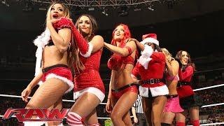 getlinkyoutube.com-12 Divas Jingle Belles Match: Raw, Dec. 23, 2013