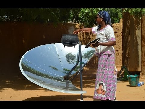 Solar cooker SOLARIO SAFE designed for developing countries by FOCALIS