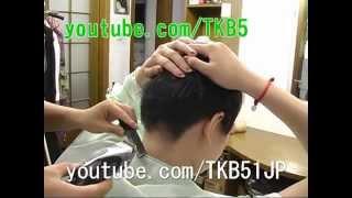 getlinkyoutube.com-短く切られ過ぎて怒っています ☆ Haircut 刈り上げ女子大生