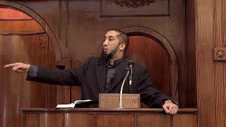 My Thoughts on Paris Shooting - Khutbah by Nouman Ali Khan