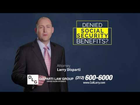 Call the Disparti Law Group if You've Been Denied Your Disability!