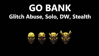 getlinkyoutube.com-PAYDAY 2 - GO BANK - GLITCH ABUSE - SOLO, DW [PATCHED]