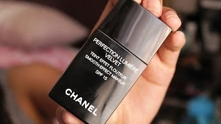 getlinkyoutube.com-Chanel Perfection Lumiere Velvet Foundation ♥ First Impression | Zahrah Aliyah