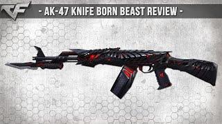 CrossFire NA 2.0 : AK-47 KNIFE OBSIDIAN BEAST (BORN BEAST) Review