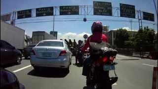 getlinkyoutube.com-Kawasaki FuryR 125cc vs KTM RC8 at C5 Philippines 6/9/12