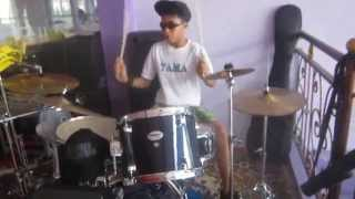 getlinkyoutube.com-tak pernah ternilai-last child-drum cover   ALDO VAN HOUSTEN
