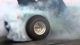 """Slicks Garage  """"World's Fastest Lawnmower""""!"""