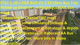 getlinkyoutube.com-ETS2 1.19.2.1 EAA BUS V1.3 4113km Bus Trip