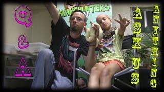 getlinkyoutube.com-Q&A (Ask Us Anything) - SnakeHuntersTV
