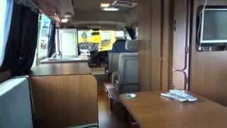 getlinkyoutube.com-中古トラック トヨタ コースターLX キャンピングカー 10人乗り 内部と装備品!