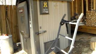 getlinkyoutube.com-Pros and Cons to a outside wood boiler.