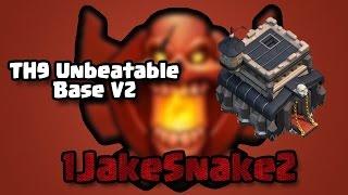 getlinkyoutube.com-Th9 Unbeatable Base!! #2 | Anti Gowipe | Anti Gowiwi | Anti Hog | Anti Lavaloonion | Anti Drag