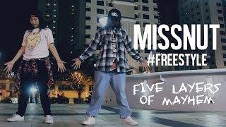 getlinkyoutube.com-MISSNUT   @natpnut x @missb_minute   #FREESTYLE   pSyk - Five Layers of Mayhem