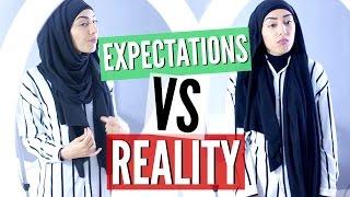 getlinkyoutube.com-EXPECTATIONS VS REALITY | Être une hijabi !