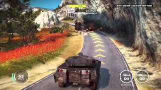 getlinkyoutube.com-Just Cause 3 - An Act of Piracy: Hijack Bavarium Tank & Deliver To Boat (At Dock) Action Sequence