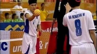 getlinkyoutube.com-SepakTakraw SEA Games 2011 Indonesia-Thailand Men's Team -B