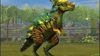 getlinkyoutube.com-PACHYCEPHALOSAURUS Level 40 Jurassic World the Game