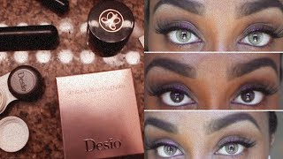 getlinkyoutube.com-Desio Contact Lenses Review : Caramel Brown & Desert Dream