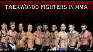 getlinkyoutube.com-TAEKWONDO FIGHTERS IN MMA HIGHLIGHTS