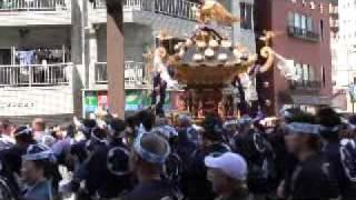 getlinkyoutube.com-平成22年 三社祭 西浅三北での乱闘