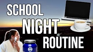 Healthy School Night Routine for Winter 2017