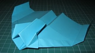 getlinkyoutube.com-Origami tutorial Starfighter paper airplane (John Collins)
