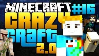 getlinkyoutube.com-Minecraft: CRAZY CRAFT 2.0 - #16 | QUEEN FAIL