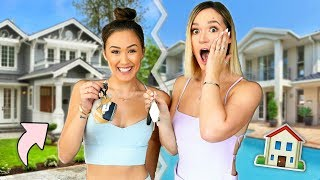 Switching Houses with LaurDIY!! width=