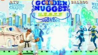 getlinkyoutube.com-MUGEN Street Fighter II arcade mode playthrough part 2