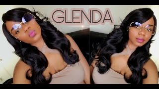 Slaying A Cheap $17 Bombshell! Sensationnel GLENDA Instant Fashion Couture Wig