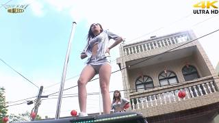 getlinkyoutube.com-Devil Girls 惡魔女孩 鋼管舞 Up&Down(4K 2160p)@屏東高樹鄉廣福村大路關順天宮天上聖母平安繞境大典[無限HD]